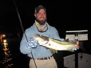 Night Snook Fishing